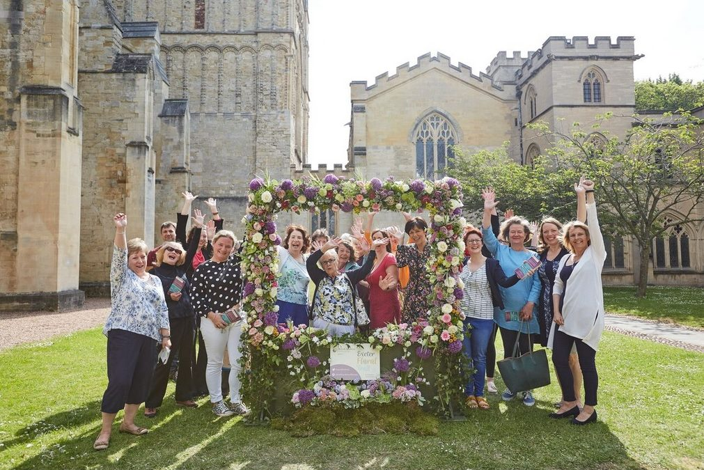 Review: Exeter Floral Trail for Chelsea Fringe 2018