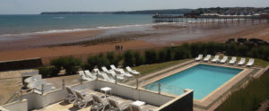 Redcliffe Hotel, Paignton pool outside
