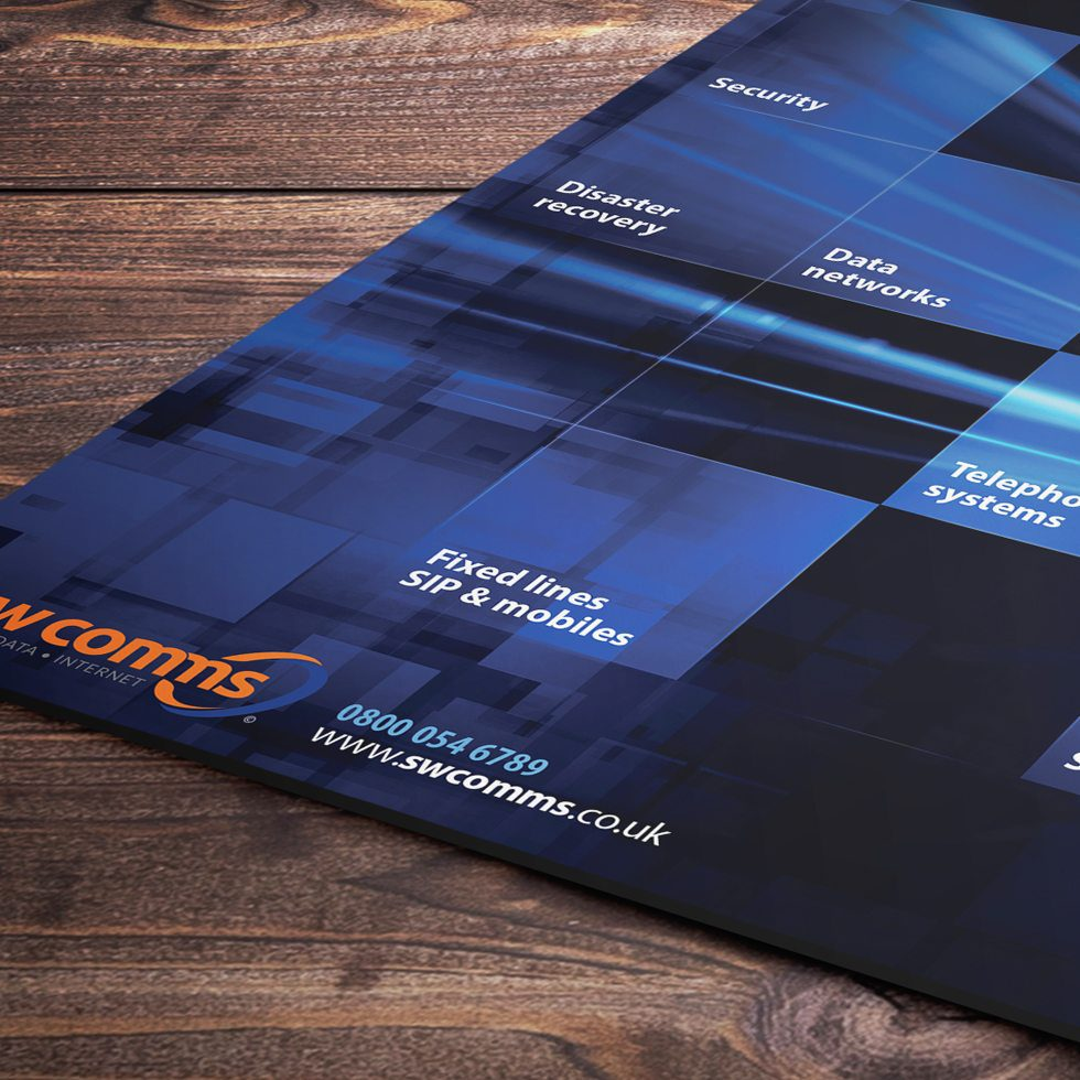 Promotional material design and print