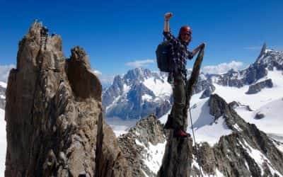 Snowy ridges, hot granite and early starts – Chamonix climbing conditions