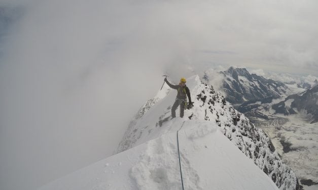 Traverse of the Eiger – Mittellegi ridge