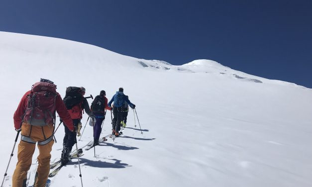 Seven days on Elbrus