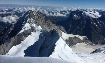 Good conditions on the Eiger South Ridge