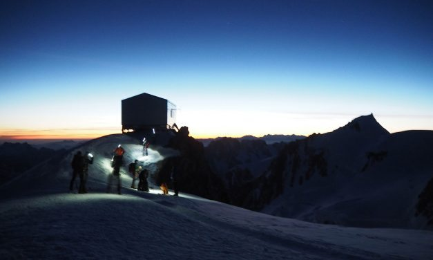 Mont Blanc – Italian pope route PD+
