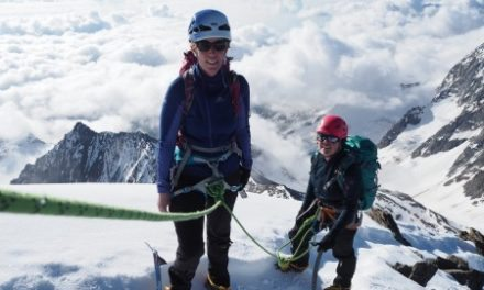 Tip top conditions on the Weissmeis traverse
