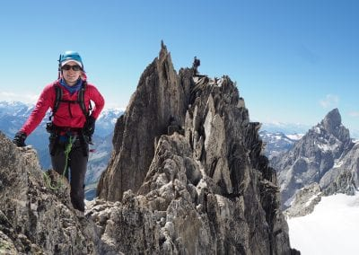 Traverse – Aiguille d'Entreves AD-, III
